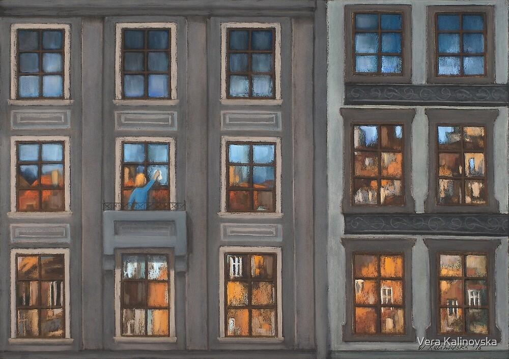 Mosaic of City by Vira Kalinovska