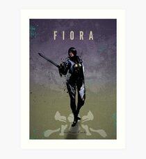 Legends of Gaming - Fiora Art Print