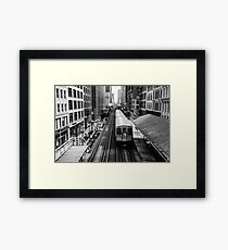 Chicago way Framed Print