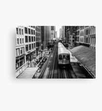 Chicago way Canvas Print