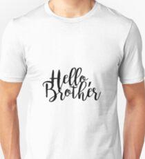 """Hello Brother"" - The Vampire Diaries Unisex T-Shirt"