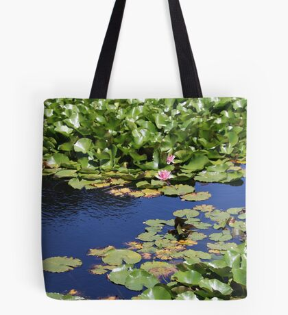 Lilies and Lily Pads Tote Bag