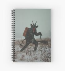 Krampus Spiral Notebook