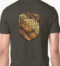 Custom Dredd Badge - Hodge Unisex T-Shirt
