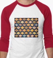 Colourful lantern pattern Men's Baseball ¾ T-Shirt