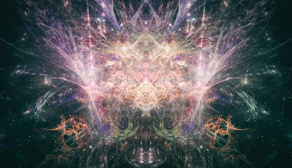 Abstract Psychedelic Art by Exterimental