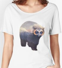 Owlbear in Mountains Women's Relaxed Fit T-Shirt