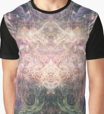 Abstract Psychedelic Art Graphic T-Shirt