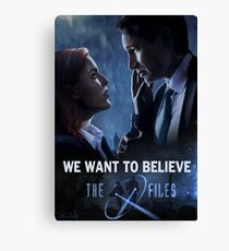 The X-files Poster s11 Canvas Print