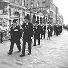 Procession, Edinburgh by Robert Steadman
