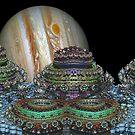 As Jupiter Sets Slowly on Io's Horizon by barrowda