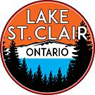 LAKE SAINT CLAIR ONTARIO CANADA BOATING FISHING BOAT WATER JET SKI ST by MyHandmadeSigns