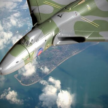 Vulcan Over Wittering ! by Arrowman