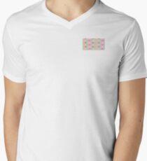 Very Funky Geometric Pattern  Men's V-Neck T-Shirt