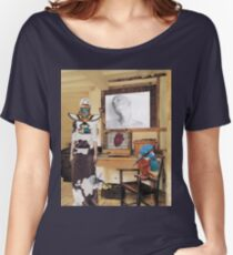 """The Heart Beats in It's Cage""(Julian Casablancas) Women's Relaxed Fit T-Shirt"