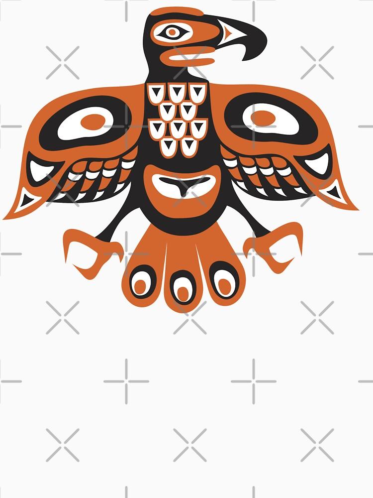 Bird - totem pole style by kislev