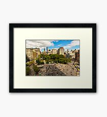 Heaven is a place on earth with you Framed Print