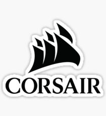 Corsair Logo Sticker