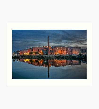 Albert Dock Liverpool Art Print