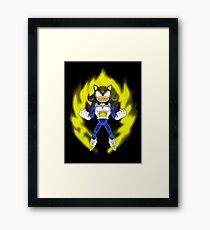 Saiyan Armour Shadow Framed Print