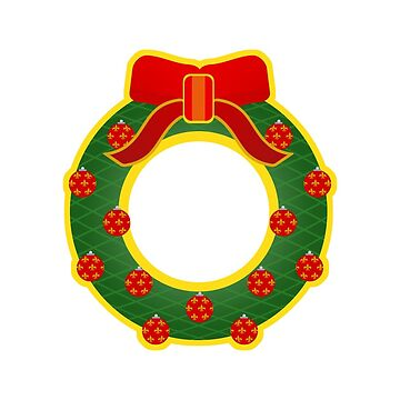 Christmas wreath by vdBurg