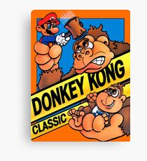 donkey kong classic game Canvas Print