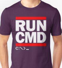 RUN CMD C:\>_ T-Shirt