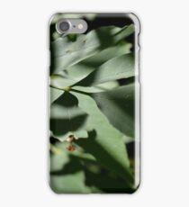 Shadow Leaf iPhone Case/Skin