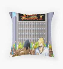 Street Fighter 2 Throw Pillow