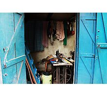 Sewing workshop Photographic Print