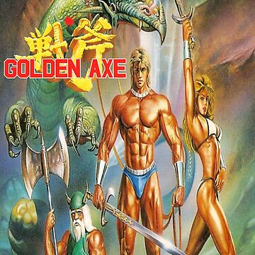 Golden Axe by garyspeer