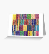 Ethnic Mexican Boho Seamless Pattern - Tribal art print Greeting Card