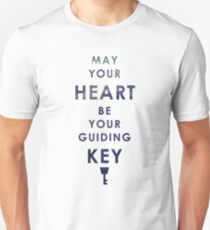 May your Heart be your guiding Key Unisex T-Shirt