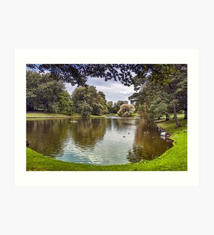 Greenbank Park Art Print