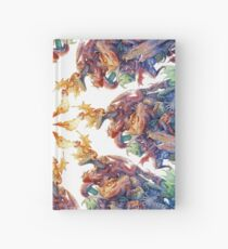 Answer to the Question dragons sprial Hardcover Journal
