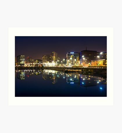 Liverpool ONE from Salthouse Dock Art Print