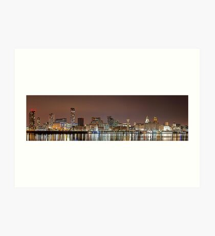 Liverpool Waterfront Art Print