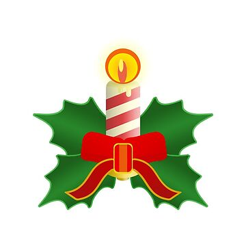 christmas candle by vdBurg