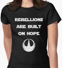 Star Wars Rogue One - Rebellions are built on hope T-Shirt