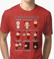 The Ultimate Guide To Being A Nerd Tri-blend T-Shirt