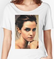 Emma Watson  Women's Relaxed Fit T-Shirt