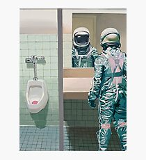 The Men's Room Photographic Print