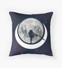 Diana - Chosen of the moon Throw Pillow