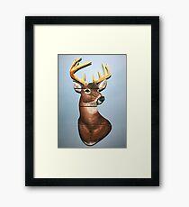 A Deer For My Nephew Framed Print