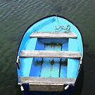 The Blue Boat, Milk Harbour, Mullaghmore, Ireland by Shulie1