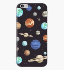 Retro Planet Design iPhone Case