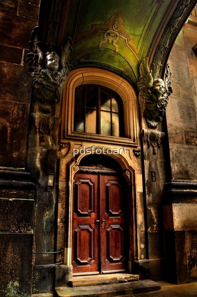 Dresden Hofkirche  by pdsfotoart