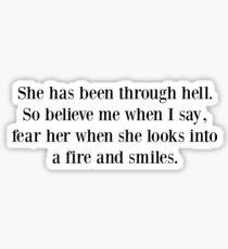 Chronic Hellfire  Sticker