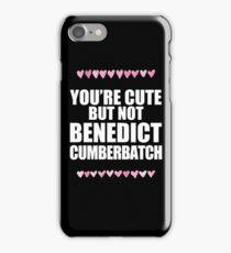 Cute but not Benedict Cumberbatch iPhone Case/Skin