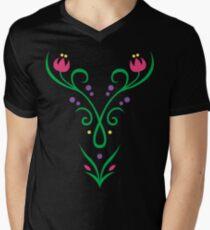 Adventurous Heroine  Men's V-Neck T-Shirt